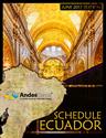 Picture of Schedules Magazine - Ecuador Edition (PDF for Digital)