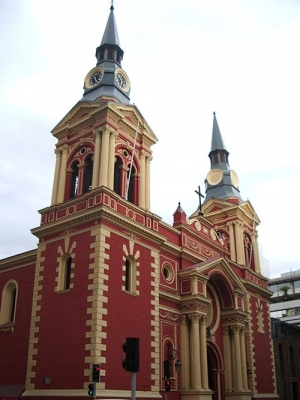 churches in Santiago have a strong european heritage
