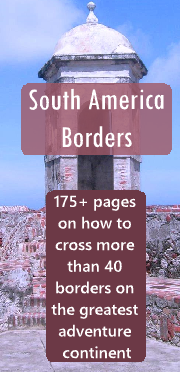 South America Boarders