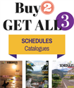 Picture of Schedules Magazine - Combo Pack (PDF for Digital)