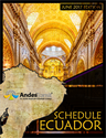 Picture of Schedules Magazine - Ecuador Edition (PDF for Digital)